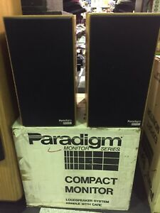 PARADIGM-Compact-Monitor-Audiophile-Stereo-Performance-Series-SPEAKERS-NEW