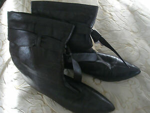 lilley-and-skinner-brown-leather-ankle-boots-size-6-eur-39-only-worn-a-few-times
