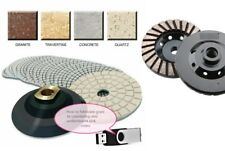 Granite Concrete Polishing 28 Pad Cup Countertop Sink Cut Stone Fabricate Video