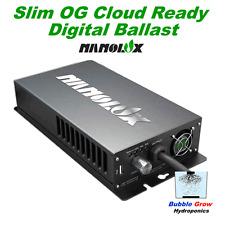 NANOLUX OG 600W HPS+MH DIGITAL CLOUD BALLAST DIMABLE & SWITCHABLE SLIMLINE