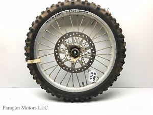 99-1-Yamaha-YZ80-YZ-80-YZ85-85-17-034-Hub-Front-Rim-Wheel-Tire-Assembly-70-100-17