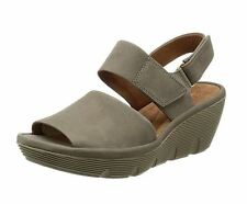 Clarks Clarene Allure Ladies Sage Nubuck Sandal Size 3.5UK/36EU