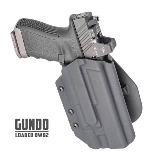 PL2 APL X300 Ultra MultiCam OWB kydex holster with paddle Glock w//light TLR-1