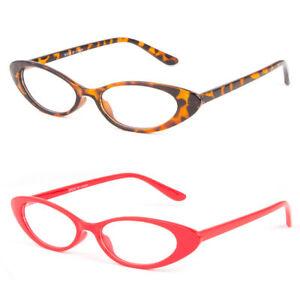 ea11f80671 Women CLASSIC VINTAGE RETRO CAT EYE STYLE CLEAR LENS EYE GLASSES ...
