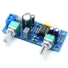 Low Pass Filter Bass Subwoofer Pre Amp Amplifier Board Dual Powecdr