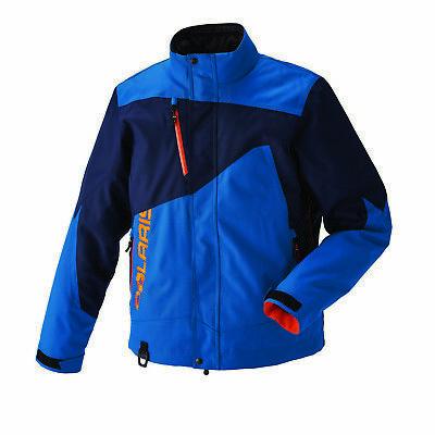 Polaris™ Throttle Orange Men/'s Winter Snowmobile Jacket w// Liner 2867716XX