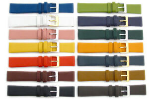 Fine-Calf-Leather-Watch-Strap-Band-Choice-of-Colours-16mm-18mm-20mm