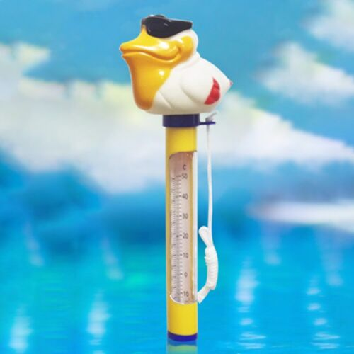 PVC Floating Thermometer Animal For Swimming Pool Pond Hot Tub Accessories 1pc