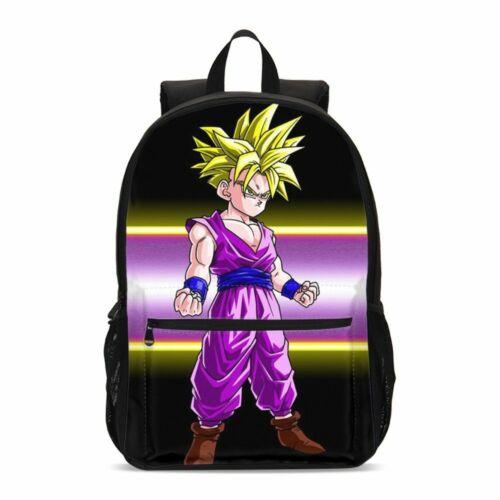 Dragon Ball Z Son Goku Boys 17 inch Large Backpack Students Schoolbag Book Bag