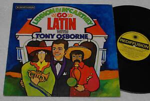 LENNON-BEATLES-LP-GO-LATIN-RARE-COVER-ART-S-HILL