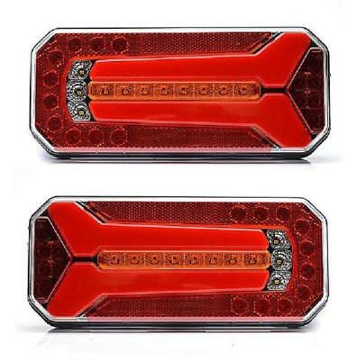LED 2x Position /& Frein Stop Feux 12//24V pour Camion Châssis Scania Man Volvo