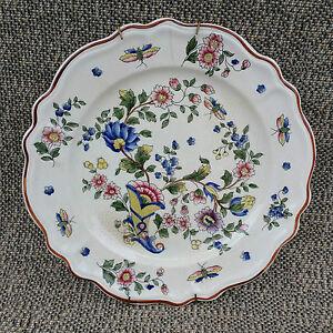 Antica-piatto-murale-porcellana-decorazione-floreale-pop-old-french-piatto