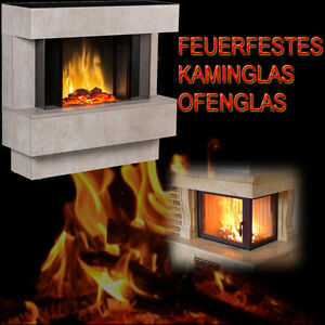 Fireplace Glass On The Sizes Oven Glass Fireproof Heat Proof Glass Thick 4 Mm Ebay