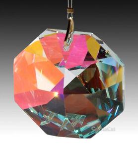 4-pcs-Swaroski-8015-18mm-AB-Austrian-Crystal-Octagon-Prism-Bead-Pendants