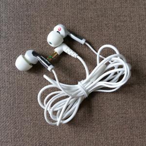 Original-Sony-MDR-EX57LP-In-ear-Earphone-Headphones-White-Discontinue