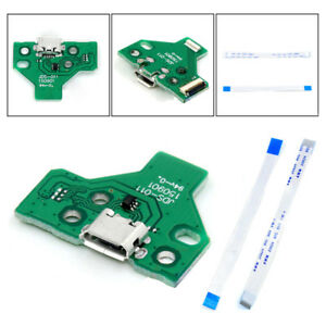 PS4-Controller-USB-Charging-Ports-Socket-Circuit-Board-JDS-011-12-Pin-Parts-New