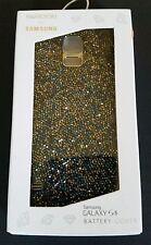 SWAROVSKI for Samsung Galaxy S5 Battery Cover Phone Case Vibrant Blue New FB