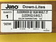 Juno Lighting 2 Led Series 062 1390 Universal Driver 2leddriver G2 10lm Mvolt Zt