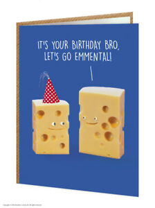 Image Is Loading Brother Bro Birthday Greetings Card Funny Comedy Humour