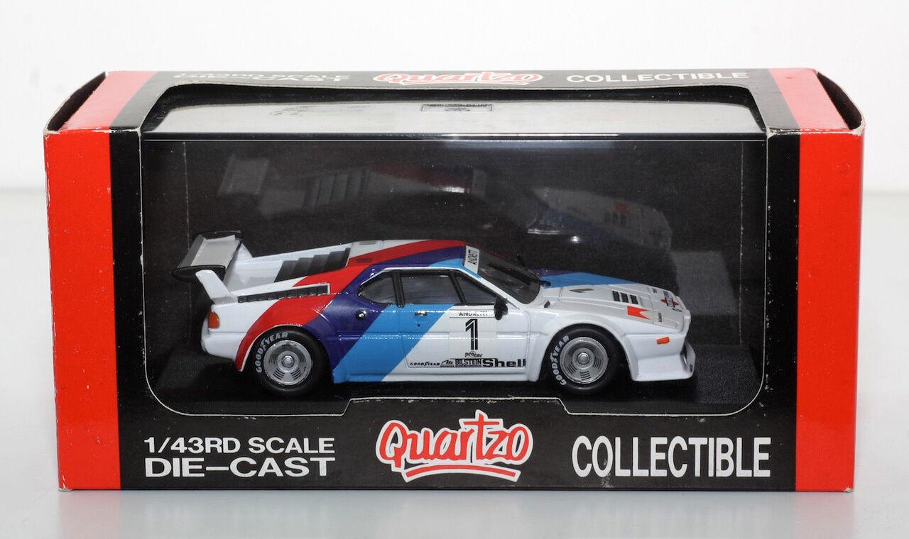 QUARTZO 3038 BMW M1 Procar Mario Andretti Monza 1979 1 43