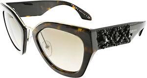 Prada-Women-039-s-PR10TS-2AU3D0-52-Brown-Geometric-Sunglasses