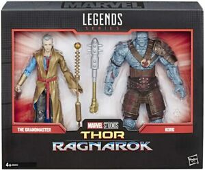 Marvel-Legends-Thor-Ragnarok-The-Grandmaster-amp-Korg-Action-Figure-2-Pack