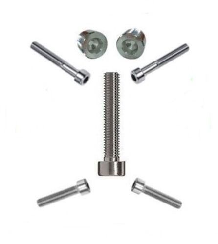 Zylinderschrauben mit Innensechskant DIN 912 Edelstahl V2A M6 x 10 bis M6 x 100