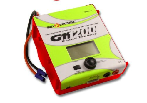 Revolectrix GT1200 with EC5 input cable,1200W 8S Multichemistry Battery Charger
