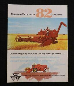 1962-Massey-Ferguson-034-Mf-82-Combinare-034-Vendite-Catalogo-Brochure-Menta
