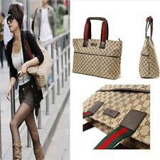 Fashion Classical Women Canvas Handbag Shoulder Bag Large Tote Satchel 2016 RH