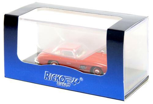 Brekina Ricko MB Mercedes Benz 300 SL Flügeltürer W198 PKW Modell 1:87 H0