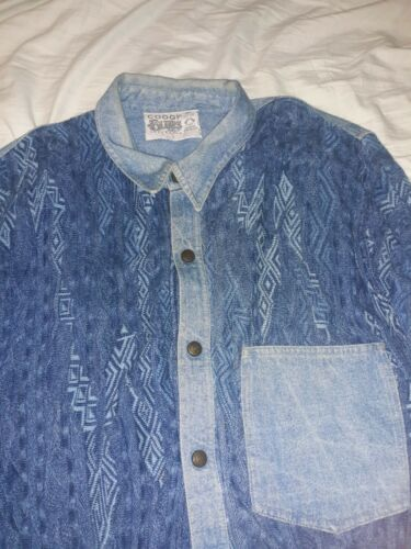 Coogi Blues Australia Sweater Shirt L