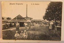 27854 AK Löbau, Stadtteil Dolgowitz am Rotstein, Ziegelei G. A. Seifert 1910