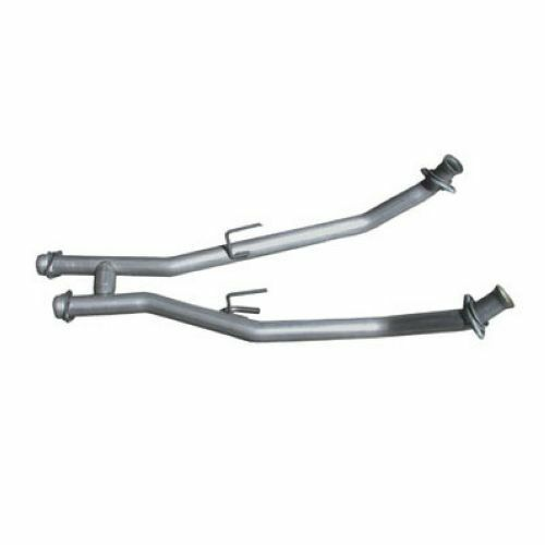 """BBK 1507 Off Road 2.5/"""" H-Pipe For 1986-1993 Ford Mustang 5.0L"""