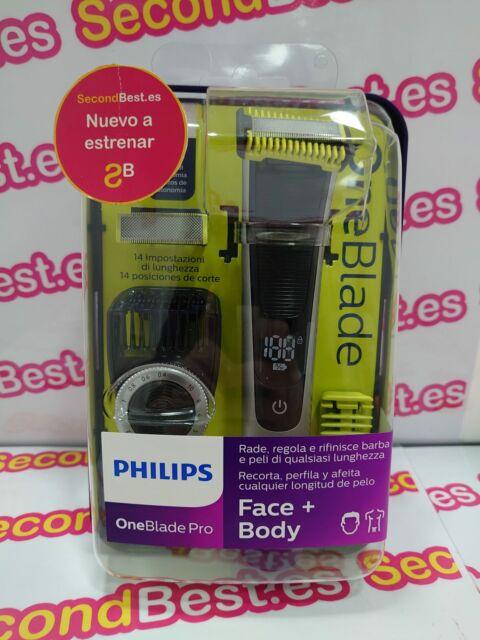 Rasoir Philips Oneblade Pro Face + Body Qp6620/20 Nouveau