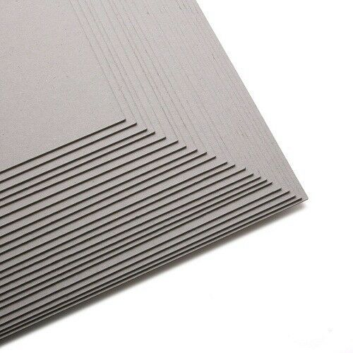 A4 0.6mm Card SALE OFFER Mount Packing Backing Board 600 Micron Greyboard A3