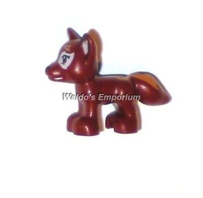 Fox Dark Red Flamy Land Animal Friends Set 41074 41176 NEW LEGO