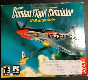 Video-Game-PC-Microsoft-Combat-Flight-Simulator-WWII-Europe-Series