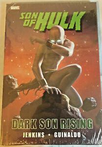 Son-of-Hulk-Dark-Son-Rising-hardcover-graphic-novel-Marvel-comic-book-new