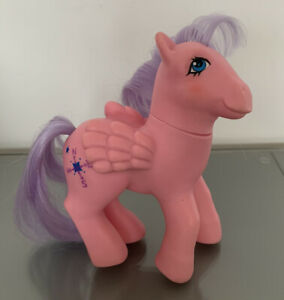 Vintage My Little Pony Northstar Pegasus Euro Uk 1985 Pink Hasbro