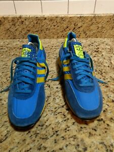 f6b3f8e453c3cf Vintage Adidas TRX Running Shoes Rare  3320-02 Size 8  Made in ...