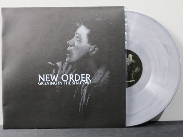 NEW ORDER 'Grieving In The Shadows' 180g GREY Vinyl LP NEW