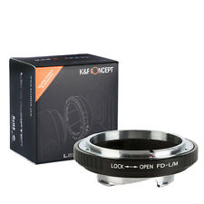 K&F Concept Lens Adapter for Canon FD Lens to Leica M Mount Camera M-P M240 M10