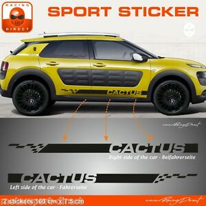 sticker citroen c4 cactus pour bas de caisse aufkleber adesivi pegatina ce87n ebay. Black Bedroom Furniture Sets. Home Design Ideas