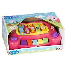 Peppa Pig Mi Primer Piano Instrumento Musical Niños 2 en 1 2+ años piano de juguete NUEVO