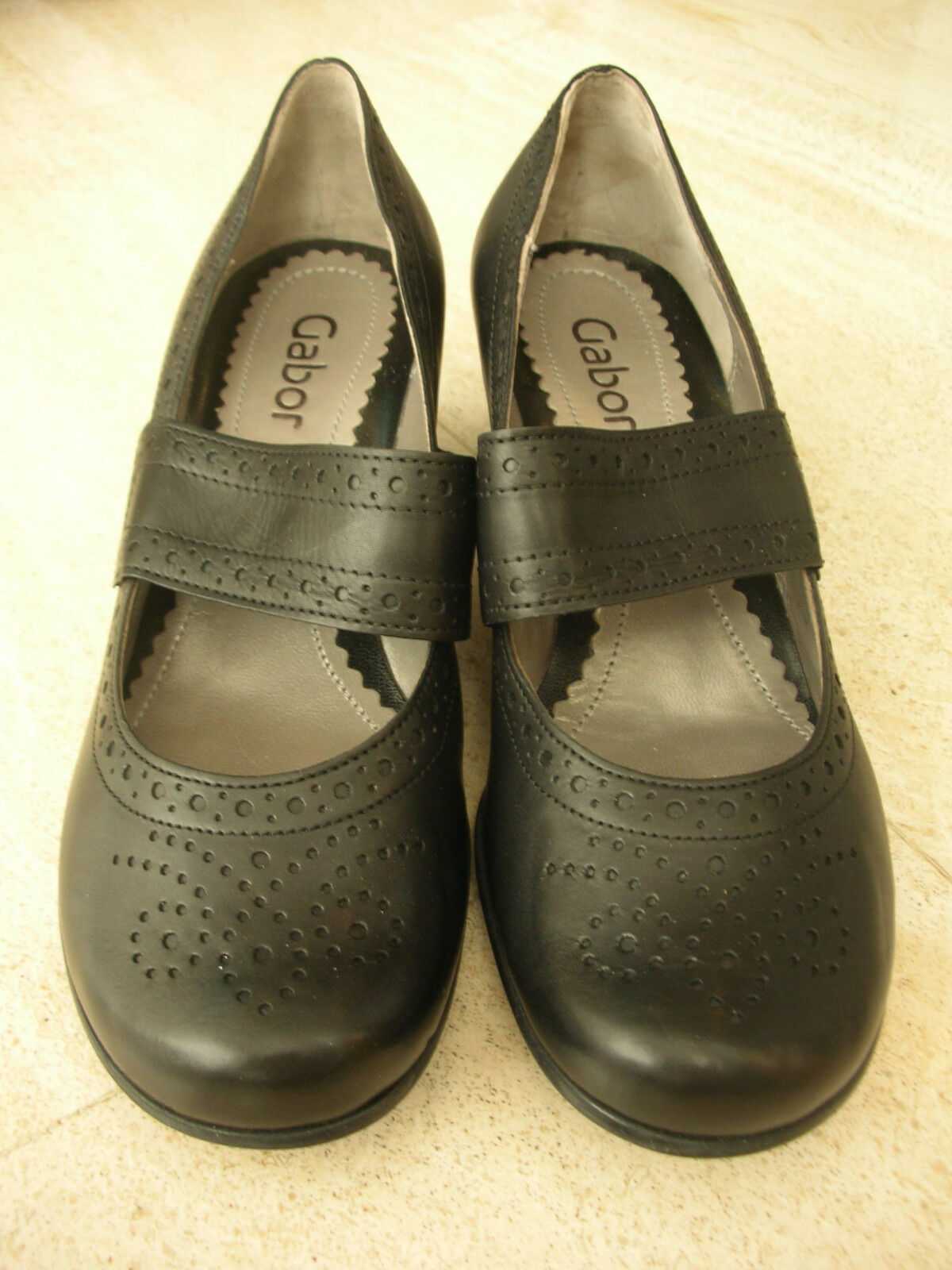 Elegante, klassische, Fashion, schwarze Pumps von Gabor Fashion, klassische, Gr. 4 Größe 37 c4a3d5