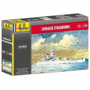 1:400 Heller Strasbourg Model Kit - 1400 Cuirasse