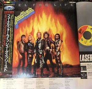 JUDAS PRIEST Fuel For Life JAPAN Laser Disc LD w/OBI+INSERT 78.4P-103 1986 issue 4988010400385