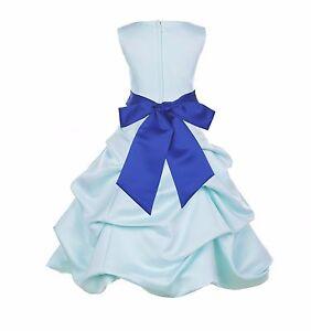 MINT CHRISTMAS HOLIDAY PAGEANT BIRTHDAY RECITAL BRIDESMAID FLOWER GIRL DRESS NEW