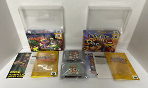 NEAR-MINT-N64-Banjo-Kazooie-Banjo-Tooie-Nintendo-64-100-Complete-Authentic
